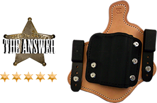 The Answer Leather Holster